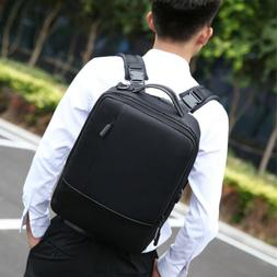 """15.6"""" Laptop Backpack USB Charger Men Anti-theft Waterproof"""