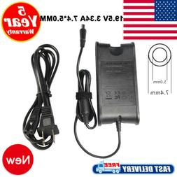 65W 19.5V 3.34A Power Charger AC Adapter For Dell Chromebook