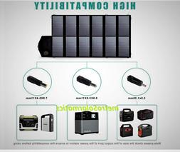 Allpowers 12V 80W Foldable Solar Panel Power Station Charger