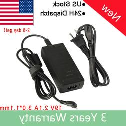 For Acer Chromebook 11 CB3-131 White Laptop AC Adapter Charg