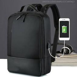 Anti-theft Mens WomensB with Charger Port Backpack Laptop Tr