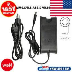 65W 19.5V 3.34A AC Adapter Charger For Dell Inspiron Laptop