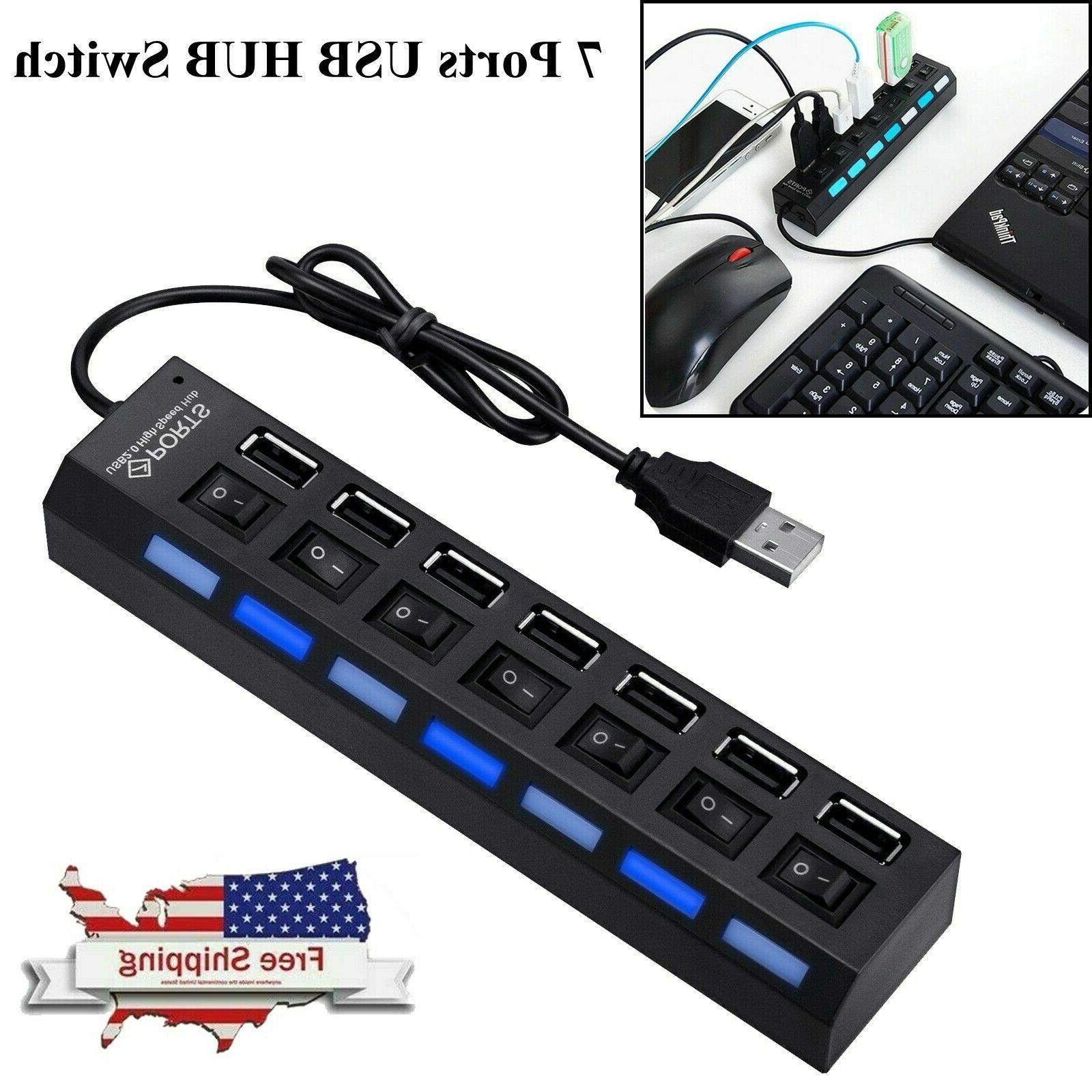 7 port usb 2 0 multi charger