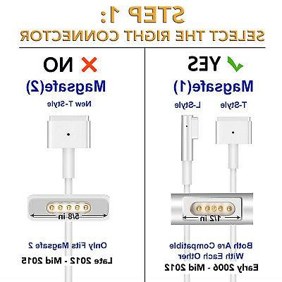 """85W Laptop AC Charger Apple MacBook 17"""""""