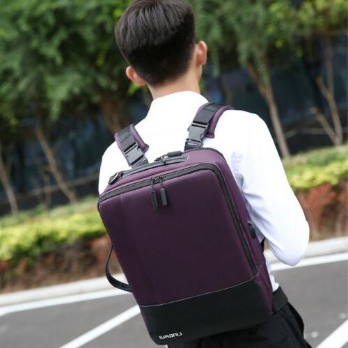 usb charger laptop backpack men anti theft