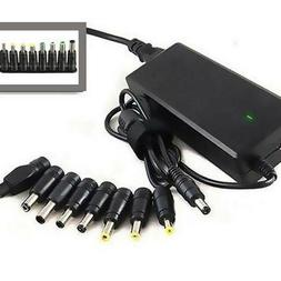 8 in 1 Universal AC DC Power Adapter Plug Charger Tips For P